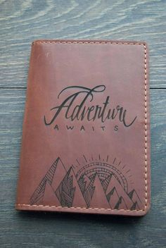Leather Passport Cover Personalized Passport Cover Passport