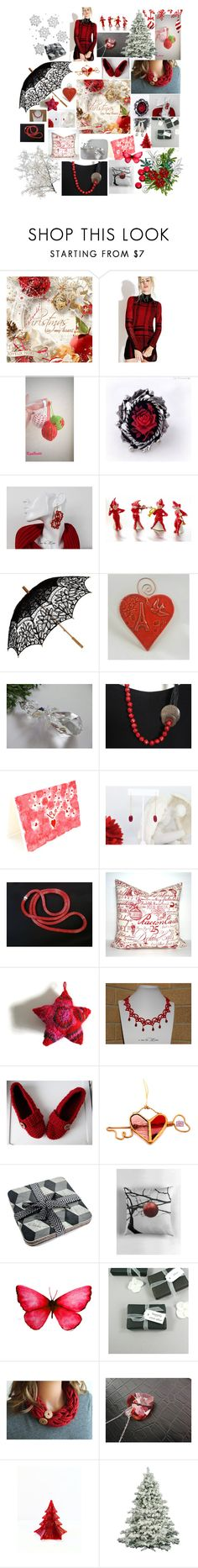 """Holiday Gift Ideas"" by monique-eves ❤ liked on Polyvore featuring interior, interiors, interior design, home, home decor, interior decorating, Tripp, Lumière, Remedios and Chilli Pepper"