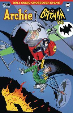 Archie Meets Batman - Comics by comiXology Batman 1966, Batman Art, Batman And Superman, Batman Robin, Batman Comic Books, Batman Comics, Comic Art, Dc Comics, Archie Comics Riverdale