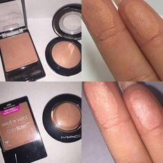 Wet n Wild ColorIcon blush in Rose Champagne is a dupe for Mac Mineralize Skin Finish blush in Warm Soul. Drugstore Makeup Dupes, Beauty Dupes, Makeup Swatches, Makeup Brands, Beauty Makeup, Mac Makeup, Beauty Products, Makeup To Buy, Love Makeup