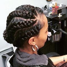 6 Goddess Braids Gallery 6 glorious goddess braids hairstyles to inspire your next look 6 Goddess Braids. Here is 6 Goddess Braids Gallery for you. 6 Goddess Braids 6 glorious goddess braids hairstyles to inspire your next look. Black Hair Updo Hairstyles, Braids Hairstyles Pictures, Twist Braid Hairstyles, Braided Hairstyles For Black Women, Work Hairstyles, African Braids Hairstyles, Protective Hairstyles, Goddess Hairstyles, Wedding Hairstyles