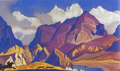 Николай Рерих. Охота.  Nicholas Roerich. The Hunt. Nikolay Rerih http://en.wikipedia.org/wiki/Nicholas_Roerich