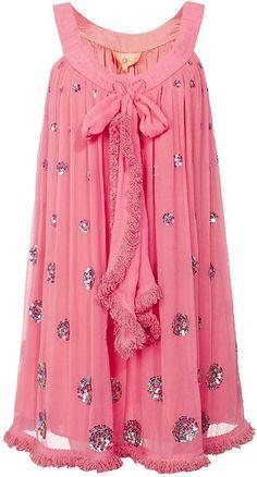 MANOUSH-Sequin Flower Dress