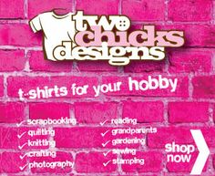 Share and Save an Extra 10% off I just bought a super cute shirt from Two Chicks Designs