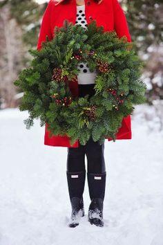 Beautiful Fresh Wreath.