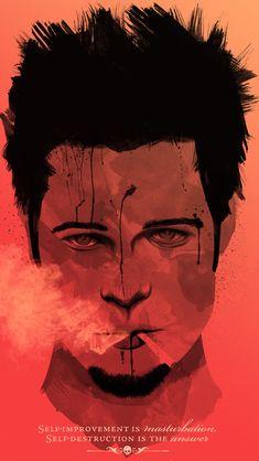 Fight Club #movie Brad Pitt