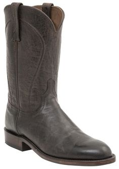 georgetowncowboyboots - H3500 Perry Lucchese Heritage Mens Goat Roper Boots…
