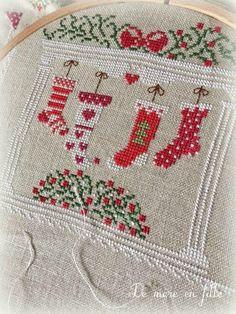 Bonjour à toutes! Il est l'heure de faire un point sur le SAL de Noël! Voici dès à présent l'étape 5 à suivre pour cette quinzaine! ...