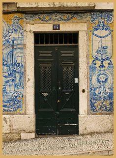 Tiles, tiles and tiles -  Lisbon, Portugal