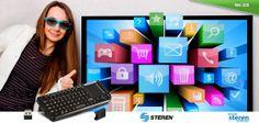 Teclado y pad USB para sistemas Android TV
