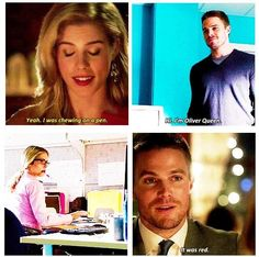Arrow - Oliver and Felicity #1.3 #3.1 #Olicity