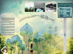 Architectural presentation layout