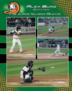 Alex Burg - Catcher for the Long Island Ducks LA Photography/Graphic Design Louis Abbatepaolo Long Island, Ducks, Catcher, Graphic Design, Baseball Cards, Photography, Photograph, Fotografie, Photoshoot