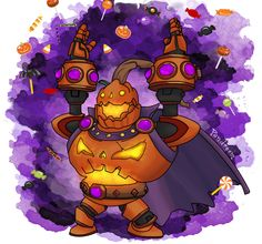 Pumpking Bomb King by Pandreem
