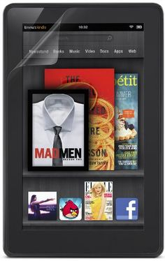 Belkin Kindle Fire 2 Pack Clear Screen Protector w/ Cleaning Cloth - Lifetime Warranty
