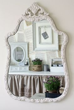 A huge mirror will have to be my next Craigslist find.