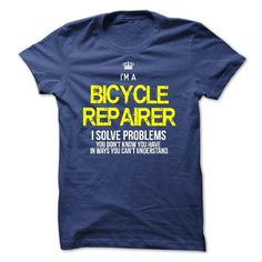 I Am A Bicycle Repairer T-Shirt