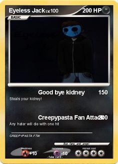 creepypasta cards   Language Card : english