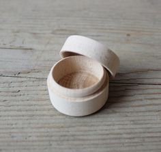 Mini Wooden Box / Engagement Ring Box / Proposal Ring Box / Unfinished Wood Box