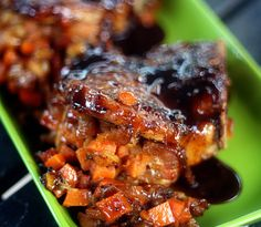 Sweet Potato and Apple Stuffed Pork Chops with Balsamic Orange Glaze