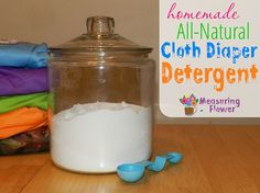 1/2 to 1 c. epsom salt (the harder the water, the more salt) 1/2 c. washing soda 1/2 c. baking soda 1/2 c. baby OxiClean