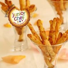 Perfect for Junior Chefs, these Cheese Straws make for a delicious snack!