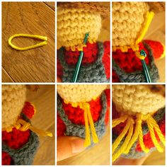 Sanity by Stitches: Little Scarecrow - Pattern
