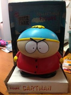 CARTMAN SOUTH PARK ORIGINAL AUTENTIC Eric Cartman, Doll Toys, Pet Toys, South Park Cartman, Cartoon Tv, Comedy Central, Mtg, Card Games, Holi