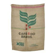 Used Burlap Coffee Bags