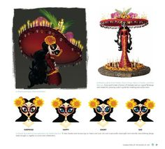 La Muerte (Catrina) - the book of life movie concept art
