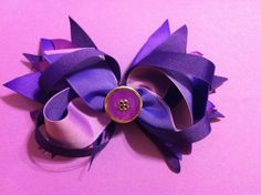 Case of the purples this bow should do the trick1 by Fabowlush, $10.00