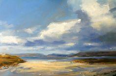 Fiskavaig, Skye - Oil on Board - Zarina Stewart-Clark, Landscape Artist