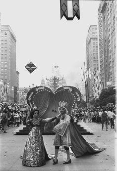 Elizeth Cardoso e Clóvis Bornay, na Unidos de Lucas, em 1967.