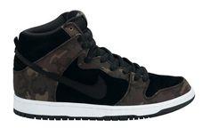 Nike Dunk Camo