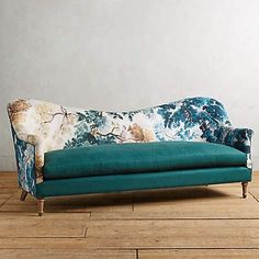 LOVE This @anthropologie Pied A Terre Camelback Sofa With Custom U0027Jurdanu0027