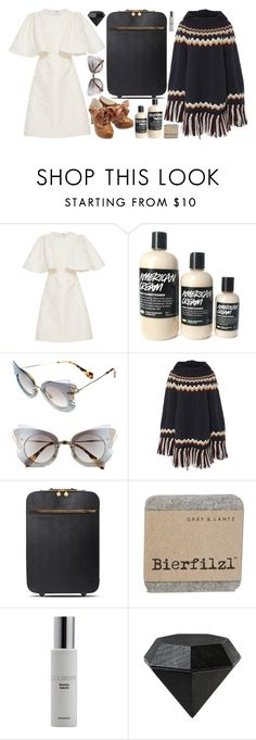 """""""I'll forget my dear name- yours of cause"""" by natjulieta on Polyvore featuring moda, Christian Siriano, Miu Miu, RED Valentino, STELLA McCARTNEY, Colbert MD, Areaware, ootd, ChristianSiriano y Larme"""