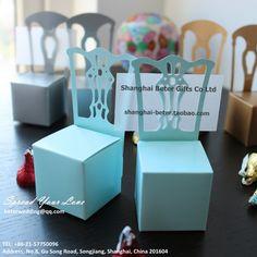 blue parti boîte faveur titulaire de carte et beter- th005- b0 ww livraison gratuite