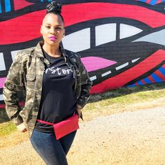 Speak Tees shows off their new HERstory tees on the streets of Atlanta. Enjoying the beautiful weather and street art Black And White Shirt, Atlanta, Street Art, Graphic Tees, Weather, Beautiful, Women, Women's, Weather Crafts