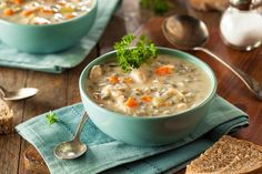 Welcome to our latest Instant Pot recipe. Today we are rocking the soup bowls with some turkey wild rice soup.