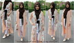 ImageFind images and videos about fashion, hijab and muslim on We Heart It - the app to get lost in what you love. Hijab Wedding Dresses, Hijab Dress, Muslim Women Fashion, Islamic Fashion, Hijab Fashion, Girl Fashion, Fashion Outfits, Modest Fashion, Fasion