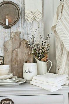 Rustic French Country Cottage Kitchen 24 - Have Fun Decor French Country Kitchens, French Country Farmhouse, French Country Bedrooms, Farmhouse Kitchen Decor, French Country Style, French Country Decorating, Country Chic, Country Bathrooms, Kitchen Country