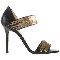 Jimmy Choo Tallow Sandals Fall 2014 #Shoes #Heels