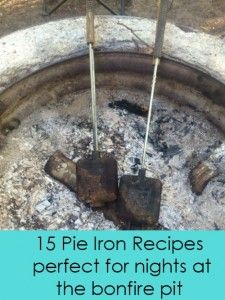 Second Chance to Dream: 15 Pie Iron Recipes backpacking food ideas, pinic food ideas, camping Pie Iron Cooking, Dutch Oven Cooking, Fire Cooking, Outdoor Cooking, Outdoor Grilling, Camping Meals, Camping Hacks, Camping Recipes, Camping Cooking