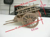Carros y Carretas para el Belen - Pesquisa Google Miniature Furniture, Dollhouse Furniture, Diy Craft Projects, Wood Projects, Making Wooden Toys, Wooden Wagon, Vitrine Miniature, Popsicle Crafts, Dollhouse Accessories