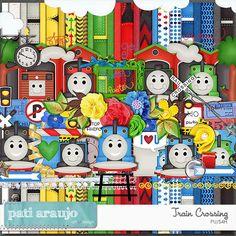 Trem passando by Pati Araujo