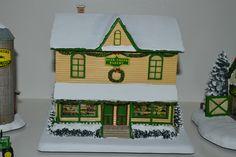 John Deere Decor, Hawthorne Village, Thomas Kinkade, Bakery, Christmas, Xmas, Navidad, Noel, Natal