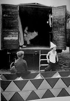 """Photo from the book """"Le Cirque d'Izis"""" // Jacques Prévert & Izis"""