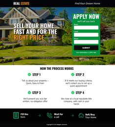 Create Real Estate Landing page mobile responsive and user friendly design with complete setup and services Real Estate Landing Pages, Real Estate Website Design, Squeeze Page, Mobile Responsive, Travel Quotes, How To Apply, Create