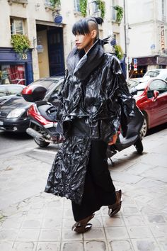 #lilygatins #jorgeayalaparis #parisfashionweek