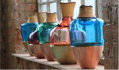 Pia Wüstenberg´s schöne Glasgefäße http://www.utopiaandutility.eu